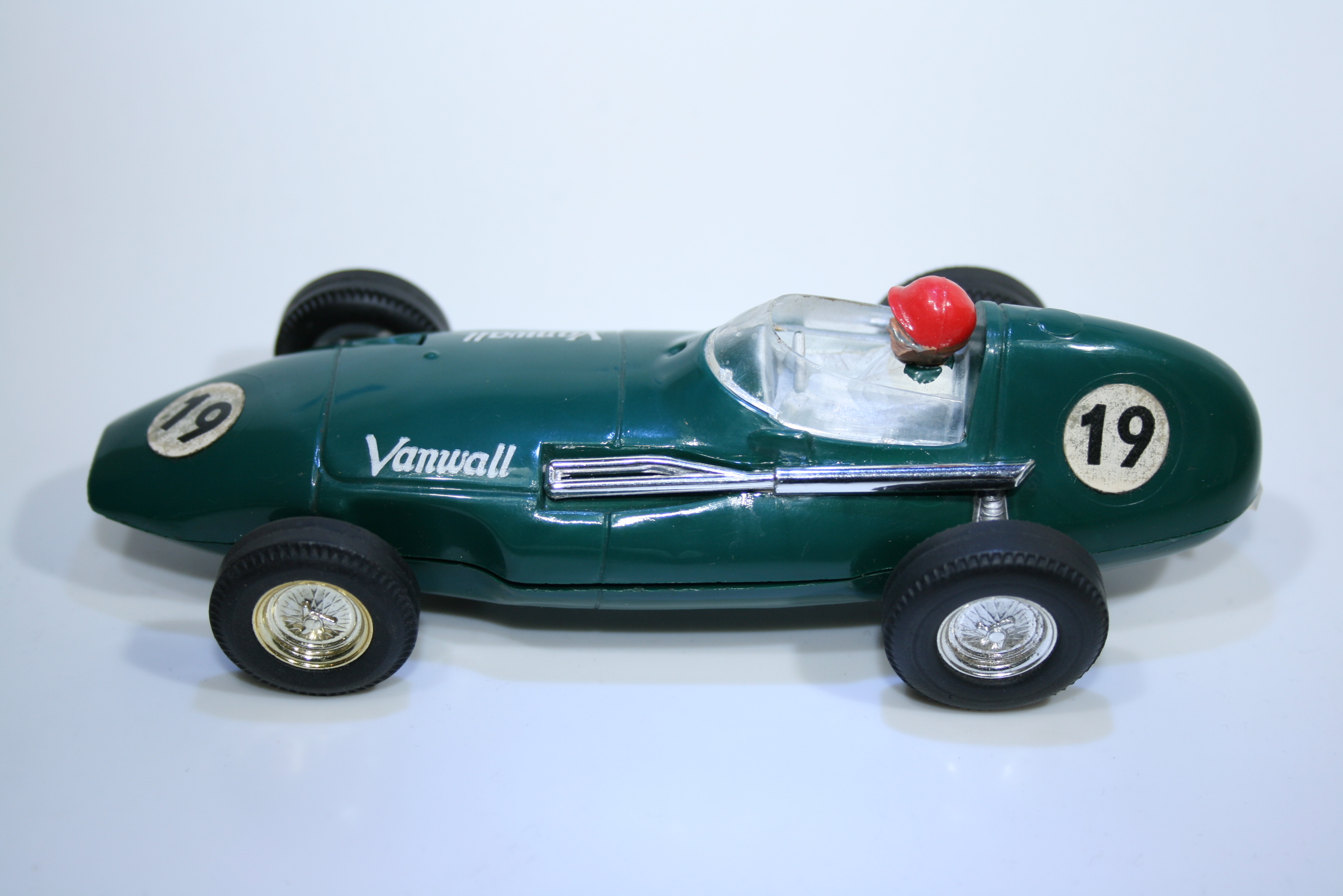 387 Vanwall VW5 1957 S Moss Scalextric C55 1960-67 Boxed