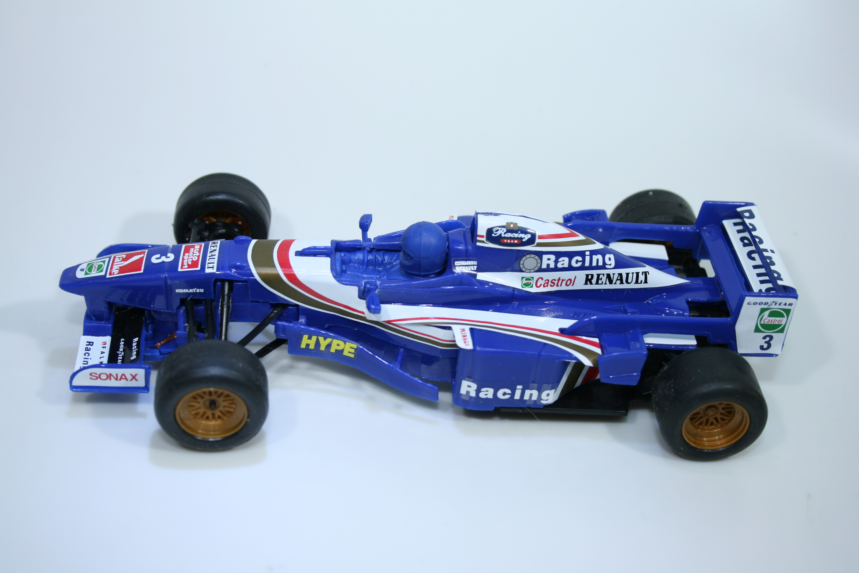 1198 Williams FW19 1997 H H Frentzen Bumslot 250 Boxed