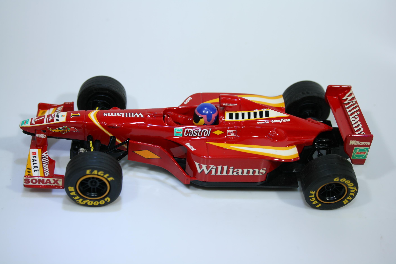 1217 Williams FW20 1998 J Villeneuve Scalextric C2161 1998 Factory Hand Paint Pre Production