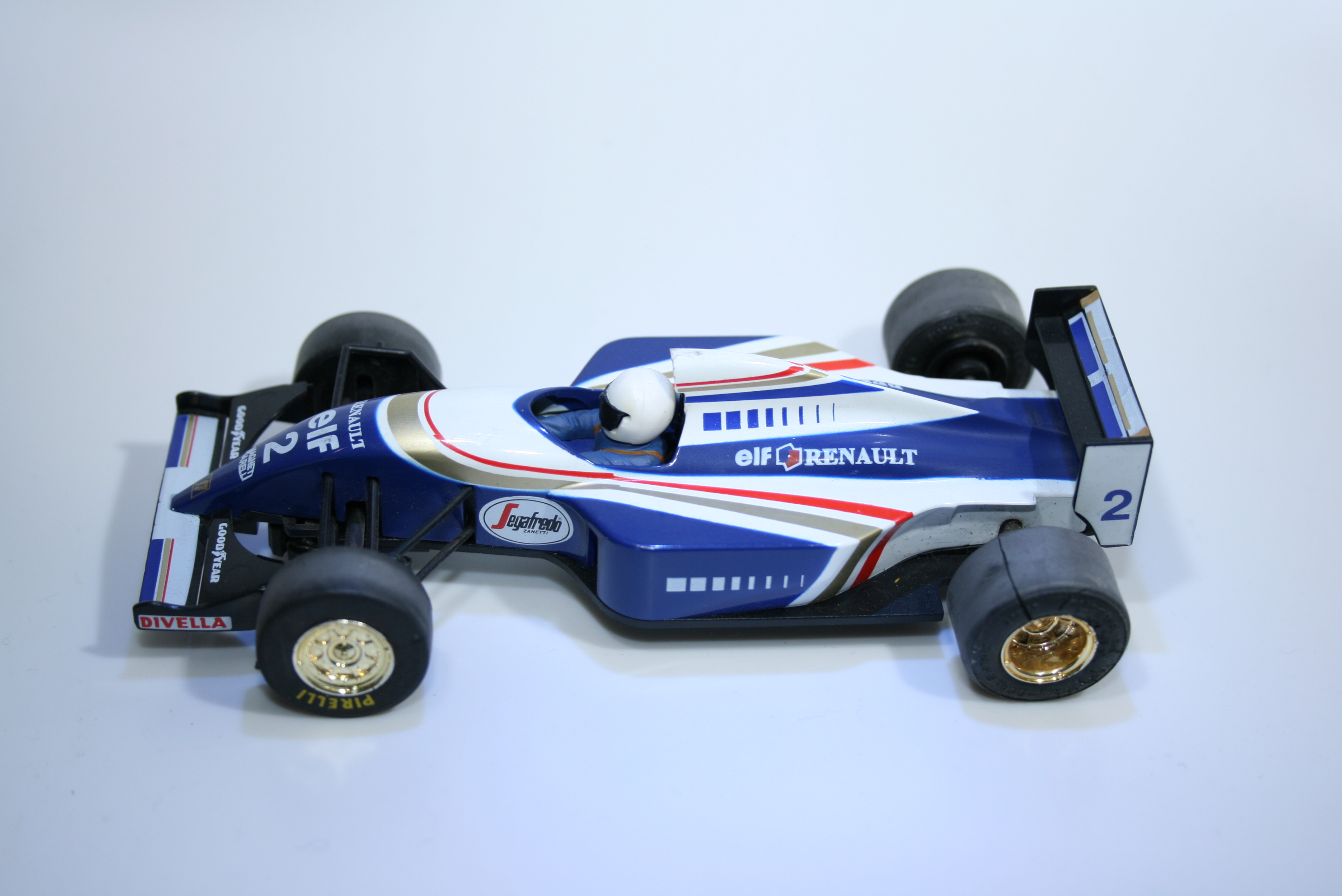 125 Williams FW15C 1994 N Mansell Scalextric C143 1994