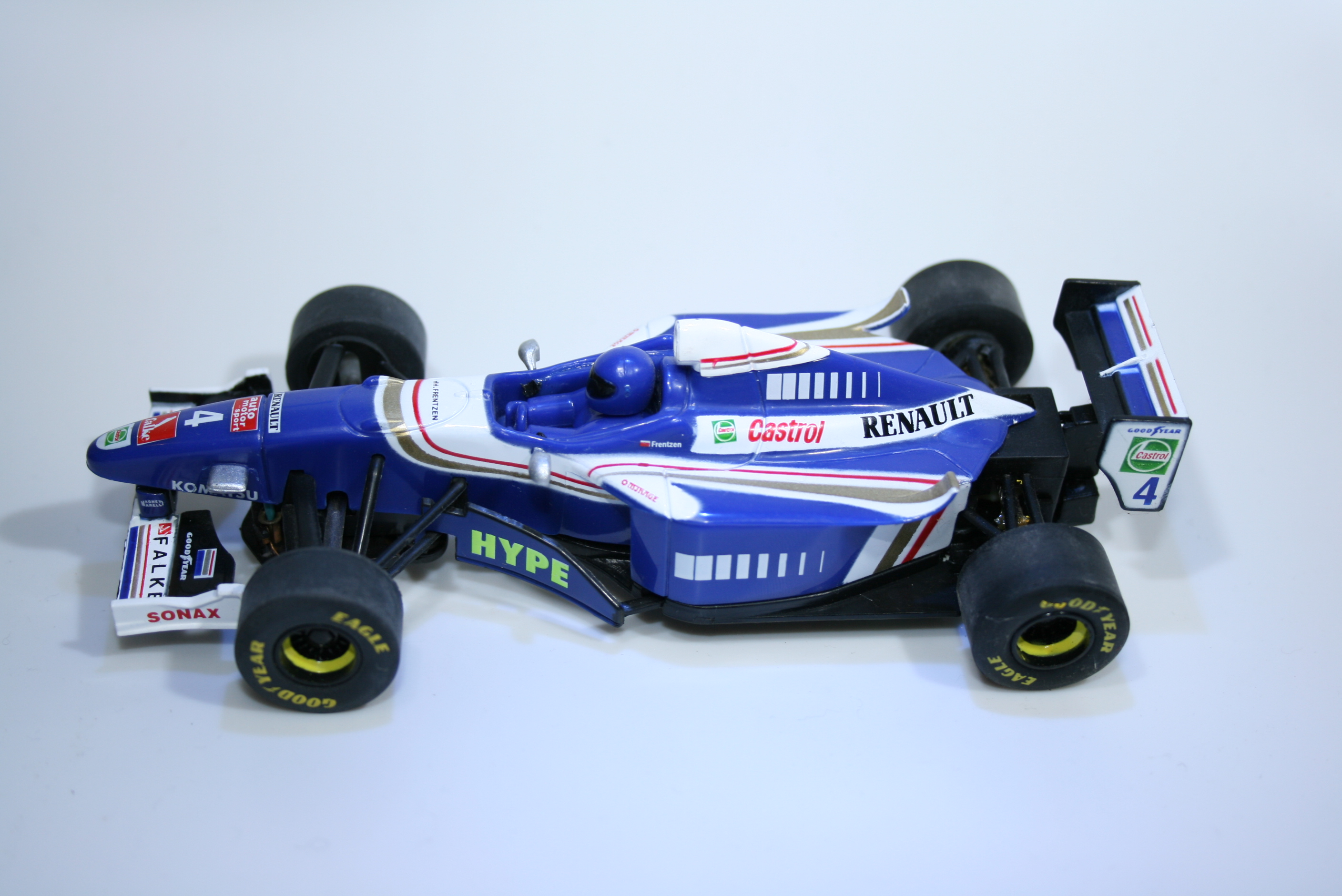 129 Williams FW19 1997 H H Frentzen Cartronic