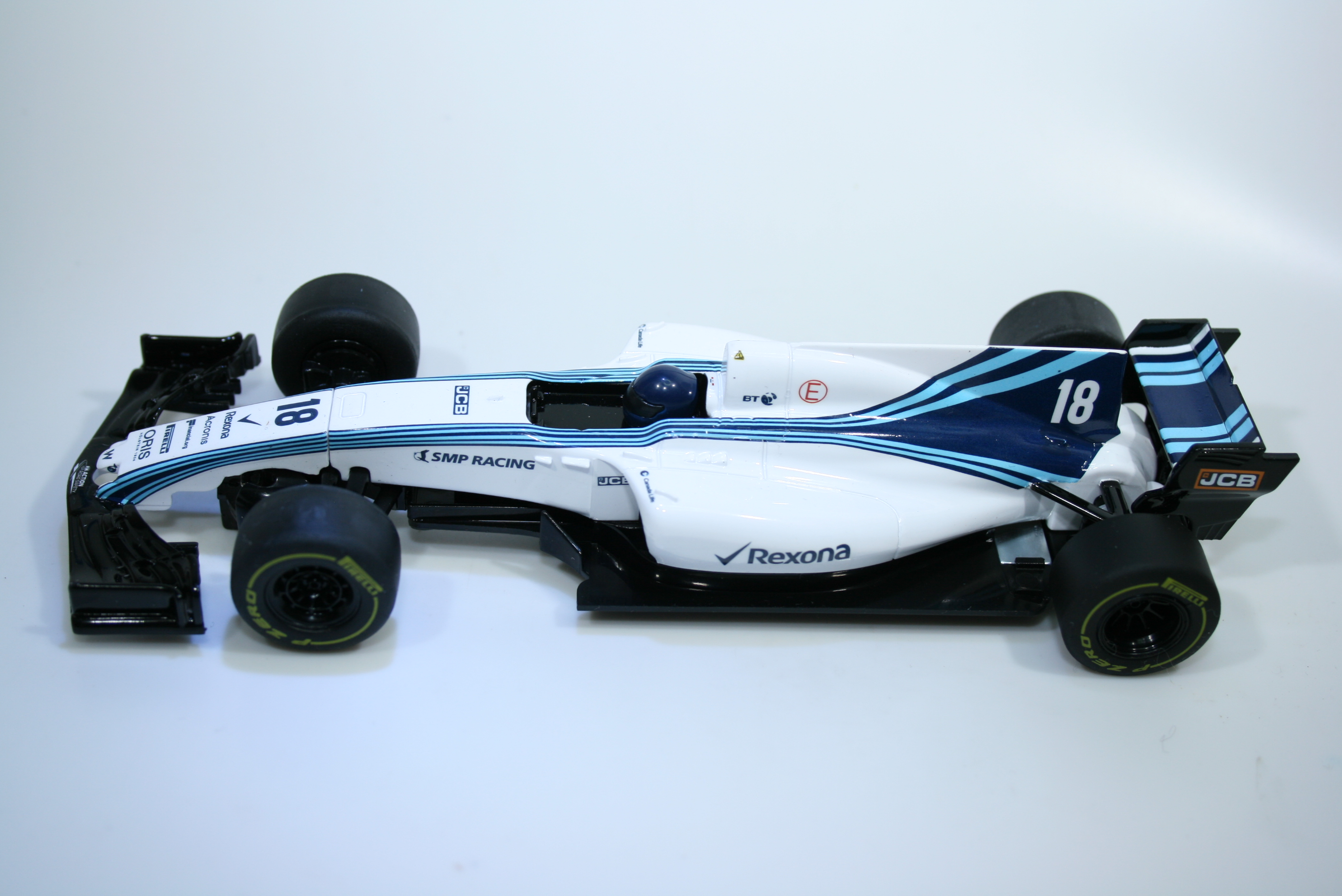 1291 Williams FW40 2018 L Stroll Scalextric C4021 2019 Boxed
