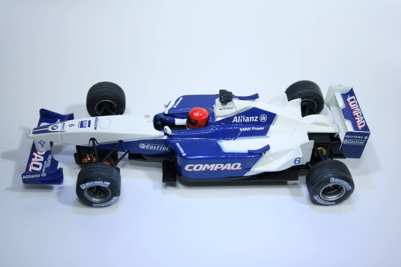 136 Williams FW23 2001 J P Montoya SCX 60960 2002 Boxed