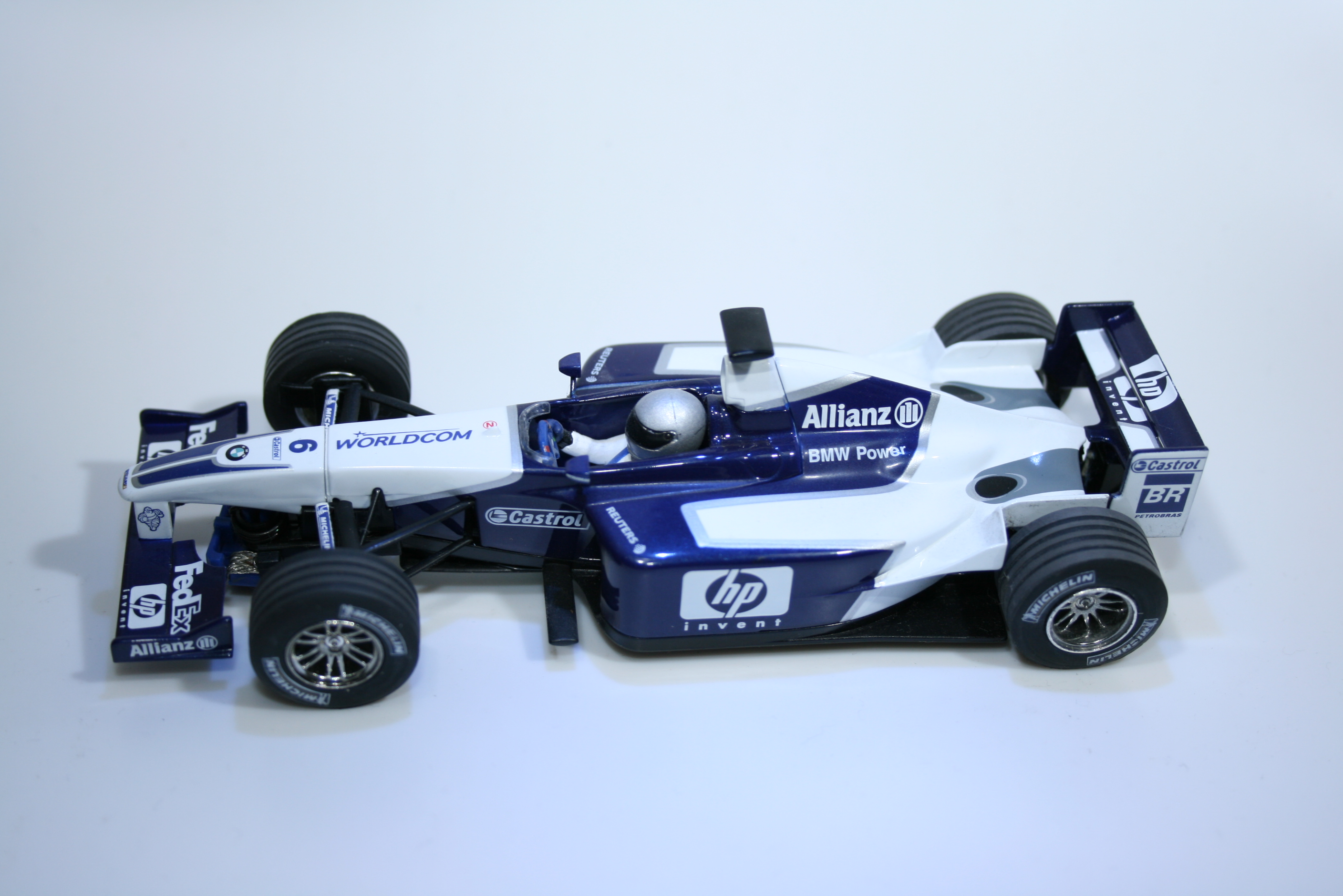 141 Williams FW25 2003 J P Montoya Scalextric C2418 2003 Boxed