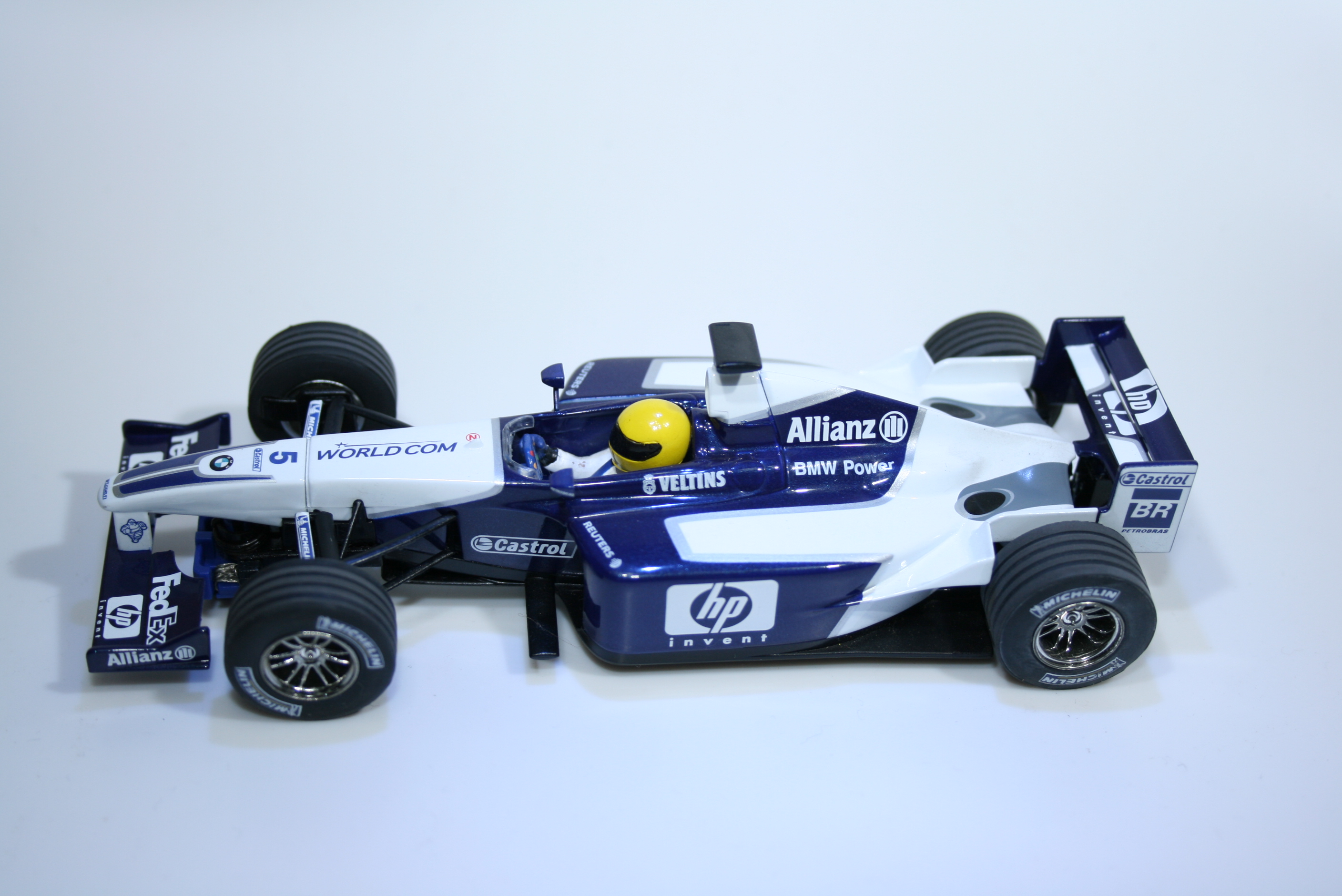 142 Williams FW25 2003 R Schumacher Scalextric C2418 2003 Boxed
