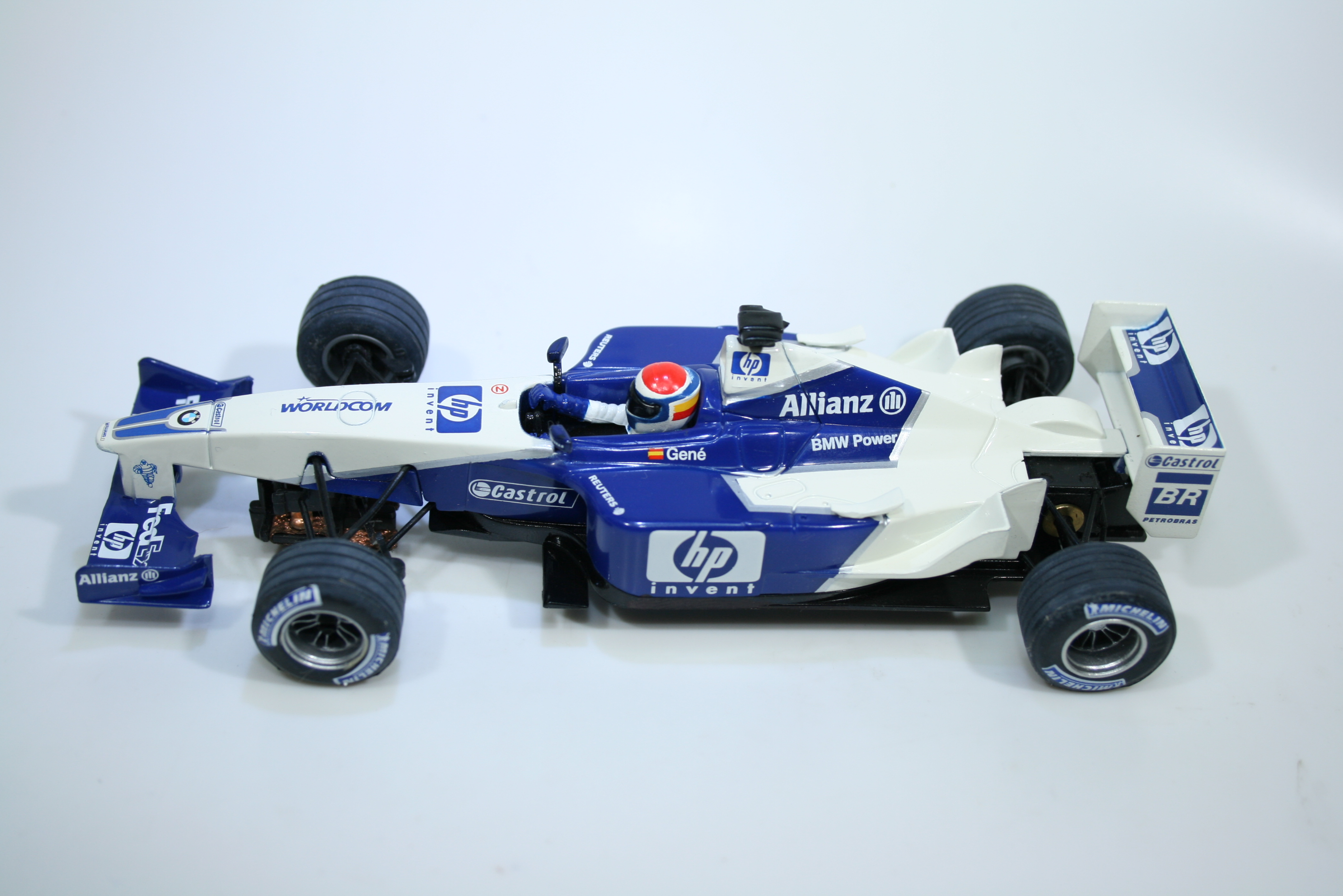 1533 Williams FW23 2002 M Gene SCX 6108 Boxed