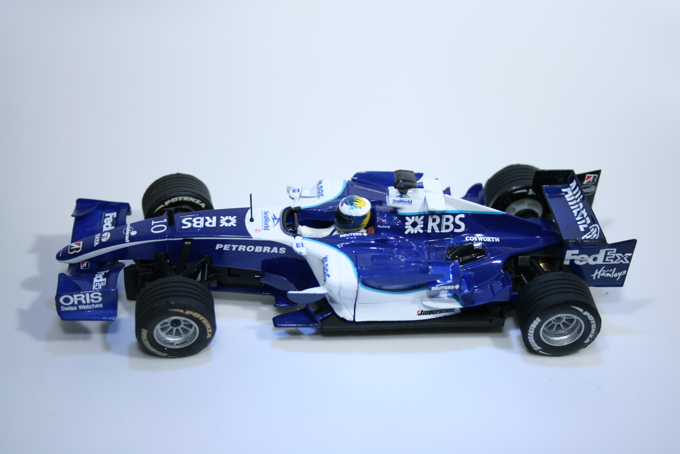 343 Williams FW28 2006 N Rosberg Scx 62450 2007 Boxed