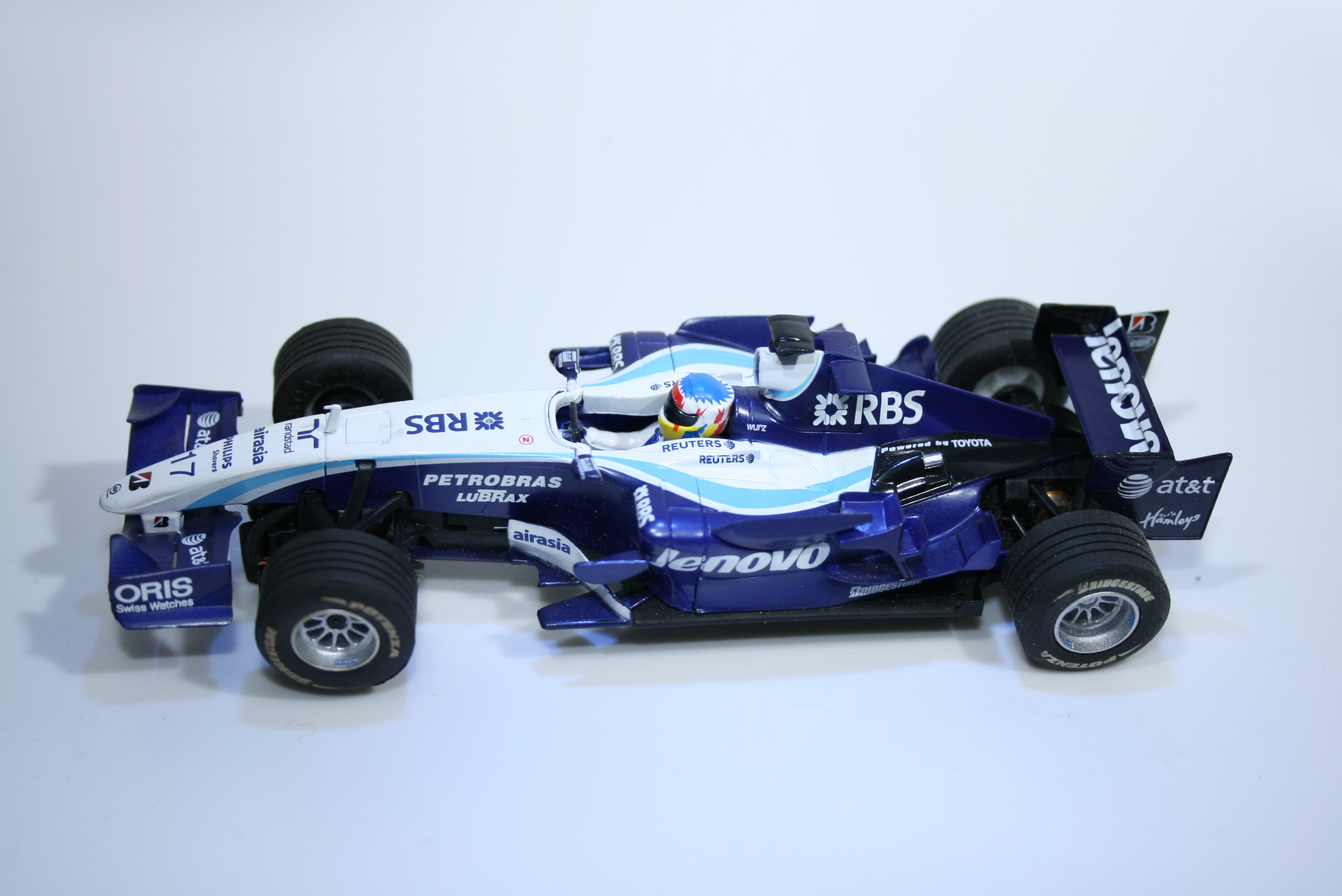 389 Williams FW29 2007 A Wurz Scx 2008 Set Car