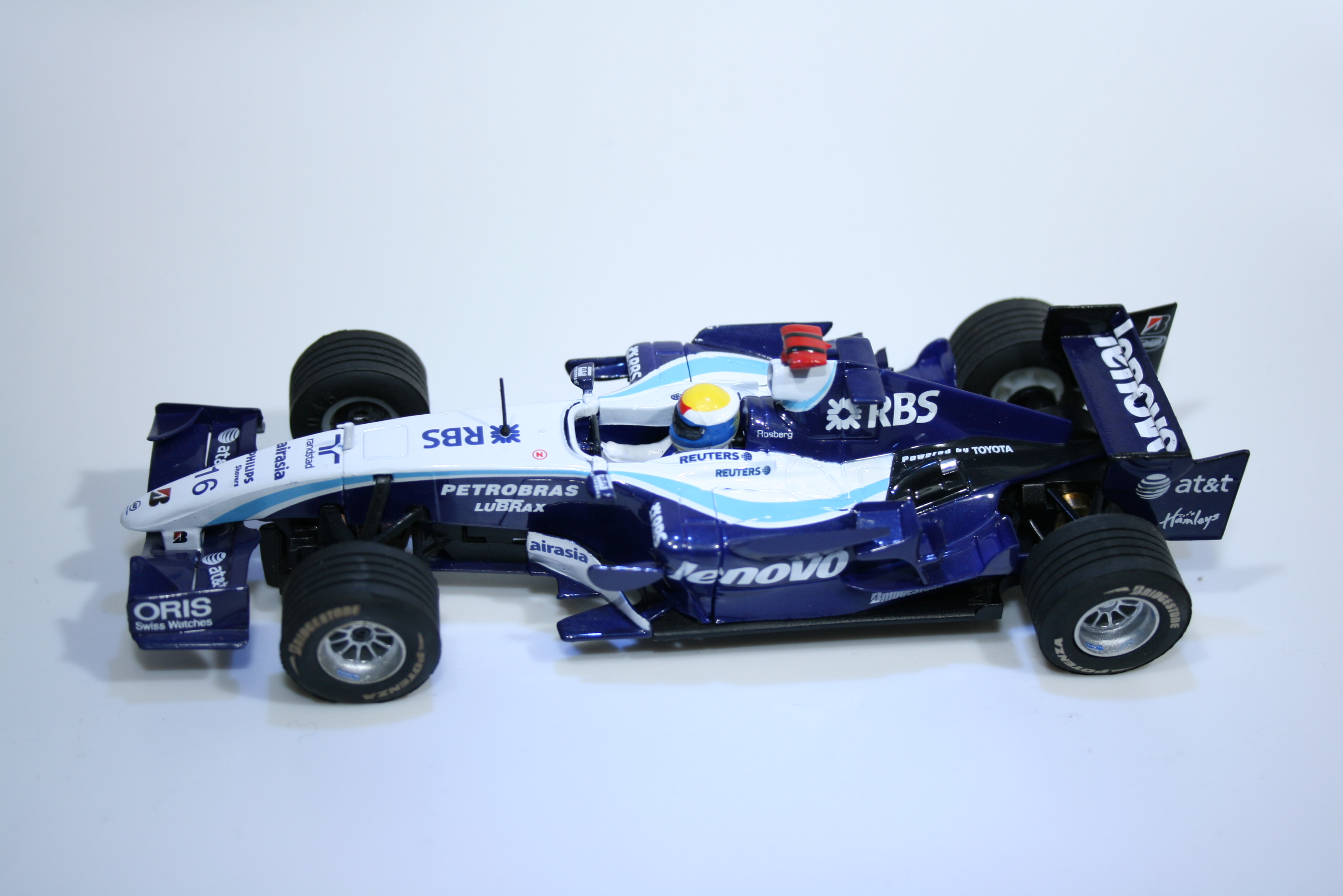 399 Williams FW29 2007 N Rosberg Scx 62880 2008 Boxed
