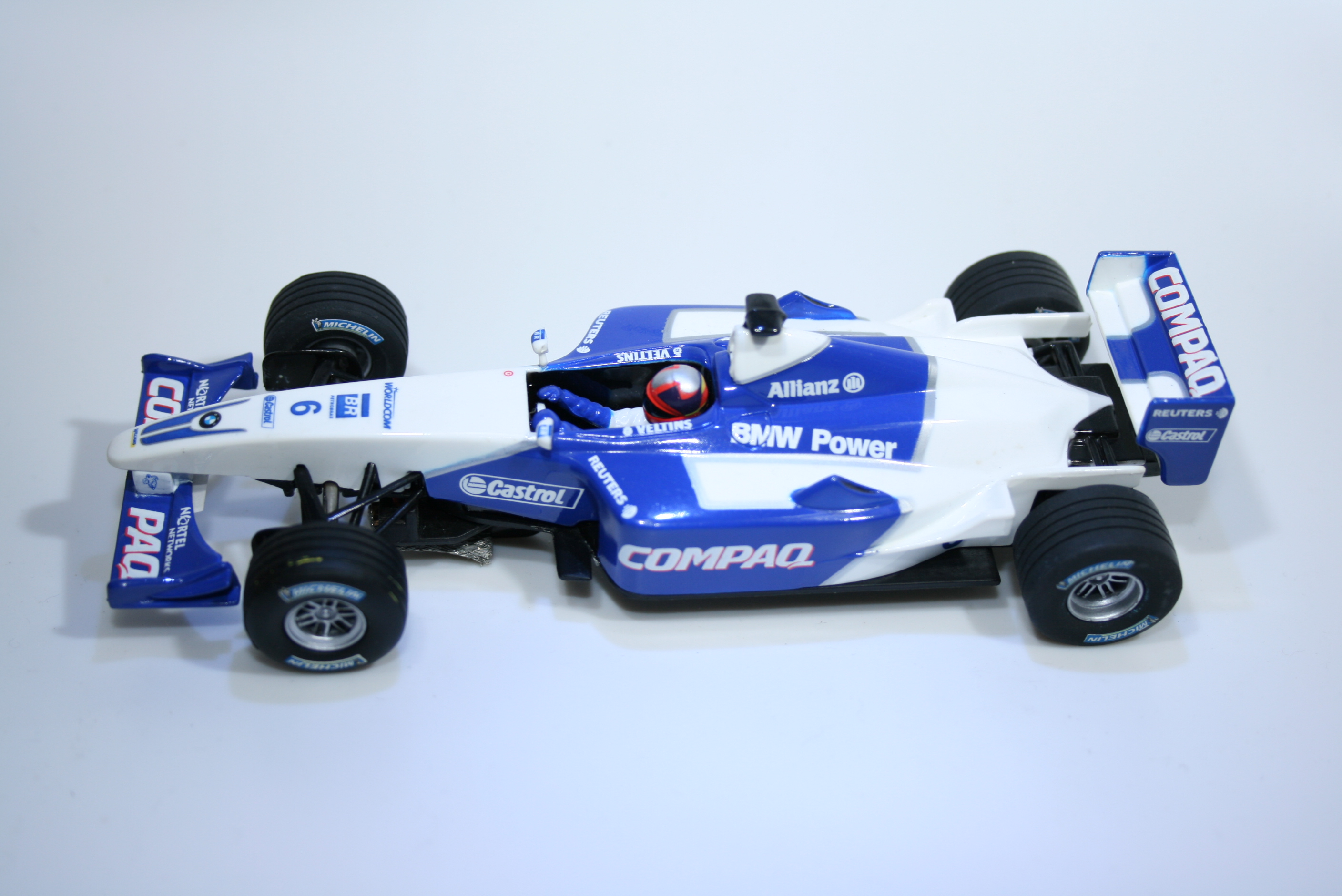 459 Williams FW23 2001 J P Montoya Carrera 25438 2002 Boxed