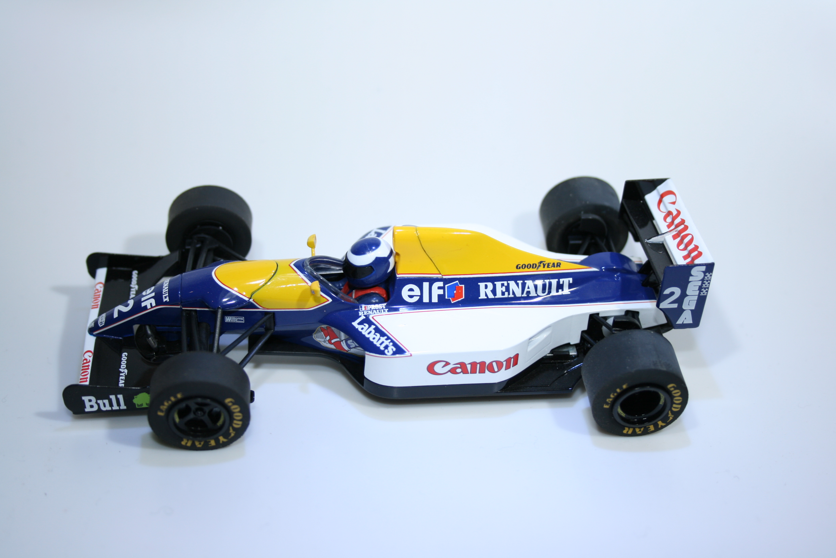 589 Williams FW15C 1993 A Prost Scalextric C3094 2011 Boxed