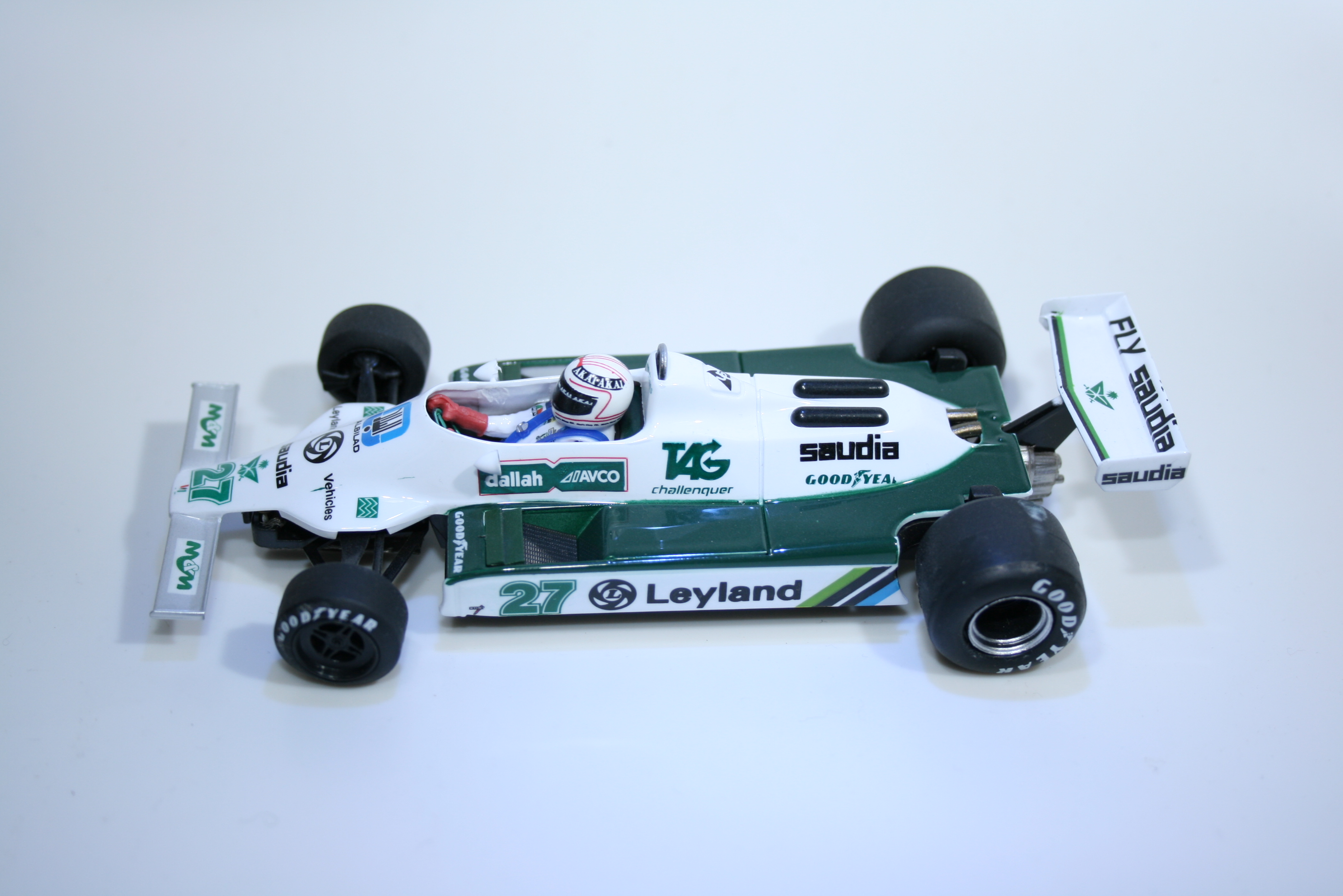 651 Williams FW07B 1980 A Jones Fly 055107 2011 Boxed