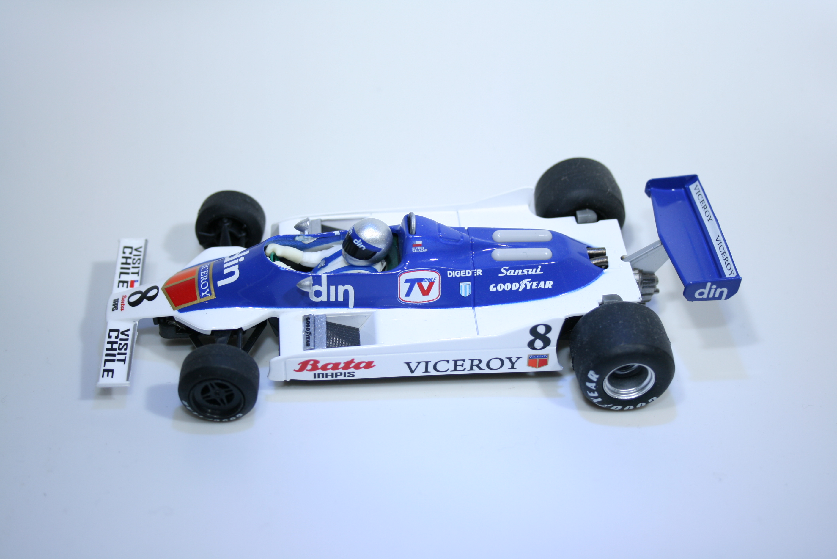 697 Williams FW07 1980 E Salazar Fly 055303 2009 Boxed