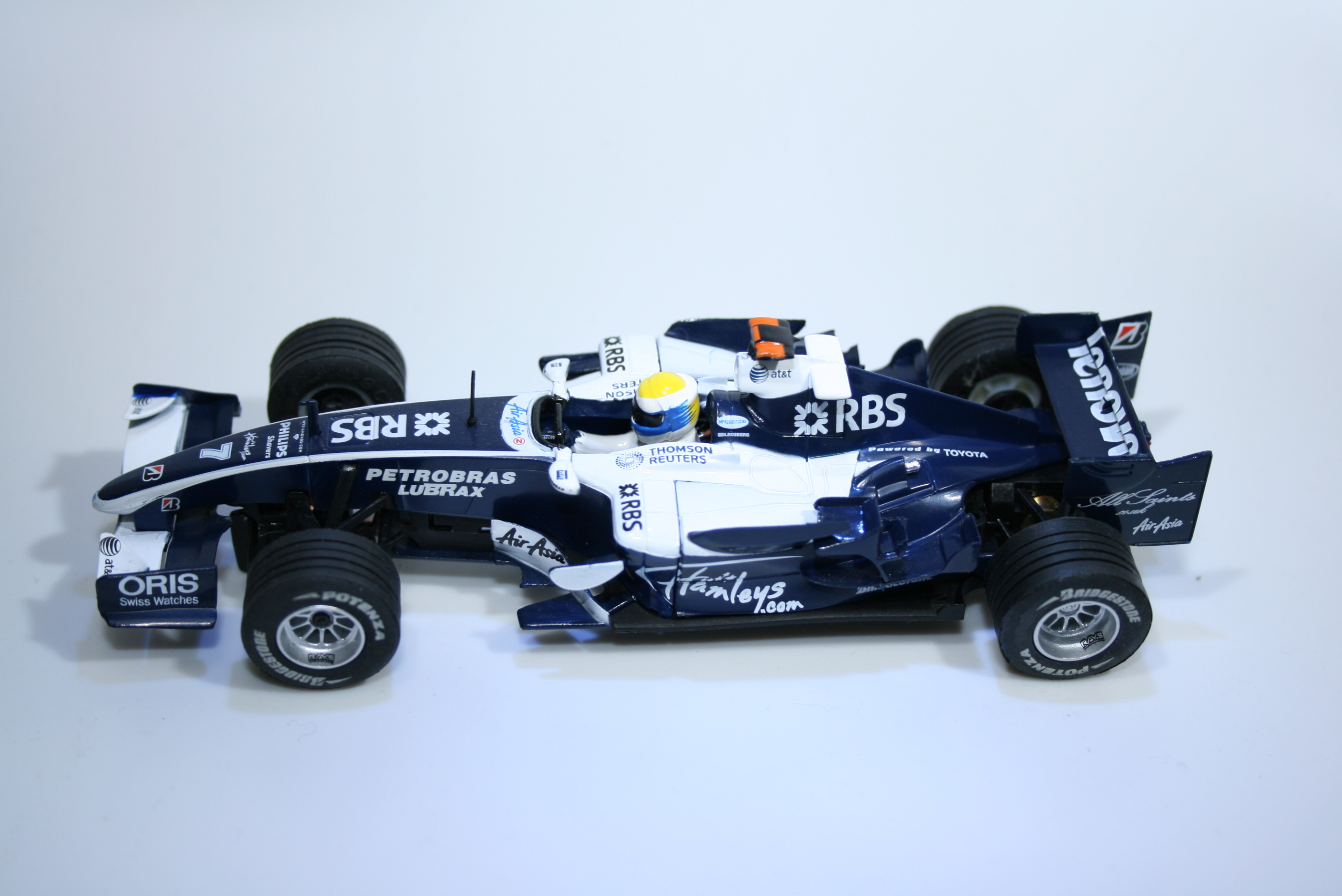 787 Williams FW30 2008 N Rosberg Scx 6288 2008 Boxed