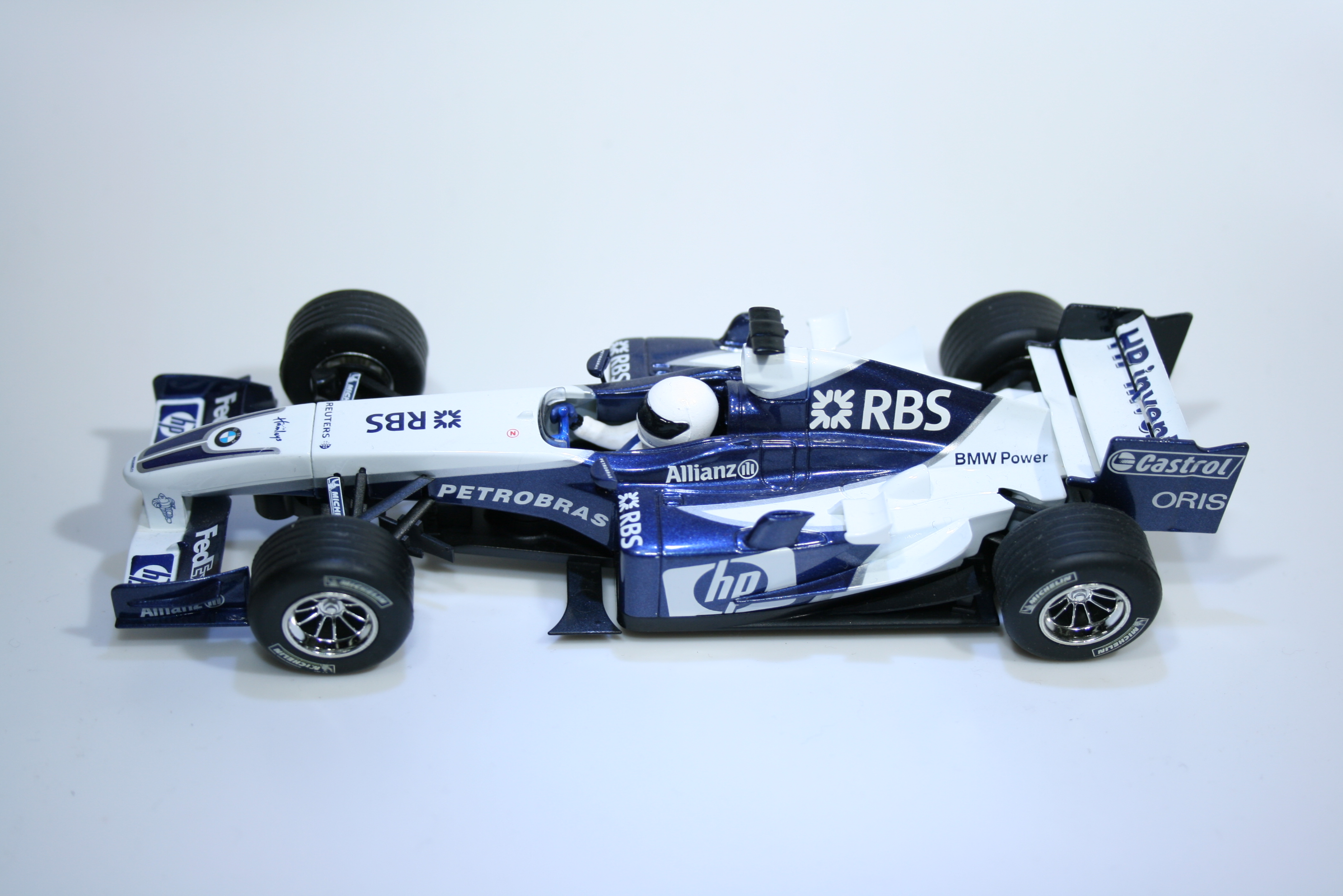 861 Williams FW27 2005 N Heidfeld Scalextric C2647 2005
