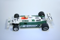 119 Williams FW07B 1980 A Jones Scalextric C138 1981-1989 Boxed