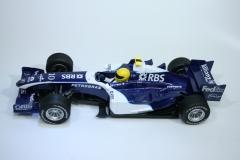 1222 Williams FW28 2006 N Rosberg Scalextric C2726 2007 Boxed Factory Decoration Sample