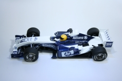 139 Williams FW26 2004 R Schumacher Scalextric C2584A 2004 Boxed