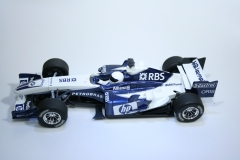 144 Williams FW27 2005 N Heidfeld Scalextric C2647 2005 Boxed