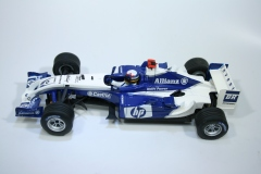 1614 Williams FW26 2004 J P Montoya SCX 61670 2004 Boxed