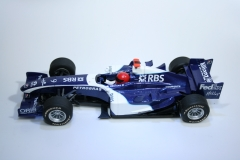 324 Williams FW28 2006 M Webber Scalextric C2725 2007 Boxed
