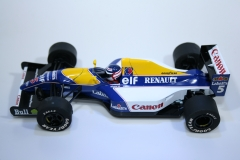 514 Williams FW14B 1992 N Mansell Scalextric C2971A 2009 Boxed