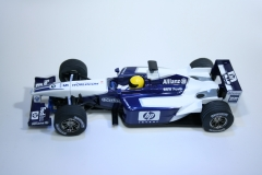782 Williams FW25 2003 R Schumacher Scalextric C2417 2003 Boxed